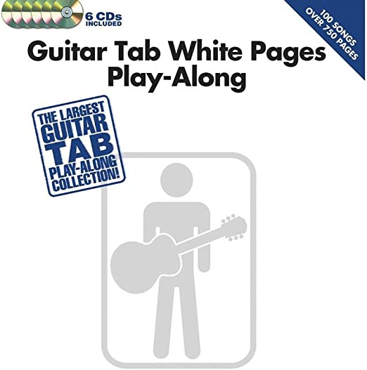 Guitar Tab White Pages Play-Along. Partituras, 6 x CD para Acorde ...