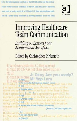 Download Improving Healthcare Team Communication: Building on Lessons from Aviation and Aerospace Pdf