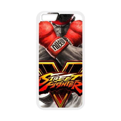 Street Fighter V 16 coque iPhone 6 Plus 5.5 Inch cellulaire cas coque de téléphone cas blanche couverture de téléphone portable EEECBCAAN02891