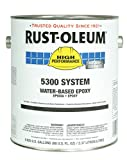 Rust-Oleum 5368408 Tile Red High Performance 5300 System Water-Based Epoxy Paint, 1 gal, 1 fl. oz. Can (Pack of 2)
