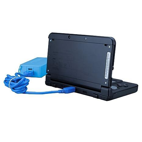 EXLENE Nintendo 3DS USB Cable Cargador de la Energía Juega Mientras se Carga para Nintendo 3DS, 3DS XL, 2DS, 2DS XL LL, DSi, DSi XL -4ft / 1.2m (Azul)
