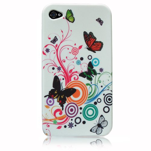 Soft Silicon Multi Coloured Floral Case