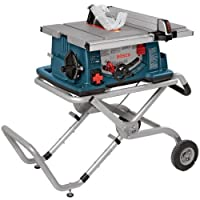 """Bosch 4100-09 10"""" Worksite Table Saw with Gravity-Rise Wheeled Stand, by Bosch"""