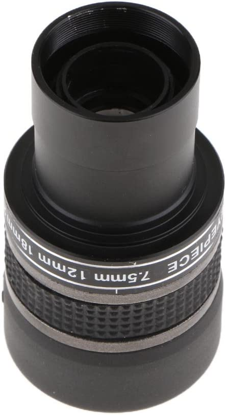 with Yellow Color Filter Fully Multi-Coated Green Film Almencla 1.25 Inch Astronomy Telescope Zoom Eyepiece Lens 7.5mm to 22.5mm Clear Wide View