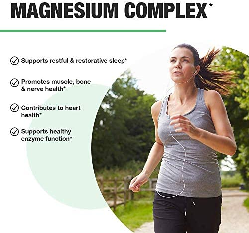 Nobi Nutrition High Absorption Magnesium Complex - Premium Magnesium Supplement for Sleep, Leg Cramps, Muscle Relaxation & Recovery - for Women & Men - 60 Vegan Capsules 7