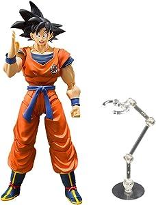 XIHAI Dragon Ball Figure Super Saiyan Large Z Son Goku Movable Joints Goku, Desktop Decoration Black Hair Dragon Ball Action Figure Collectible Model