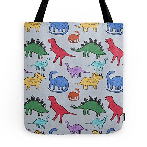 """Society6 Dinosaurs Tote Bag 16"""" x 16"""""""