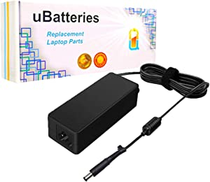 UBatteries Compatible 90W 19V AC Adapter Charger Replacement for HP Spare Part 463955-001 463956-001 469639-003 535593-001 418873-001 608428-003 519330-001 Series