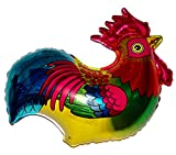 SPACE PET ROOSTER 27'' ANTI-GRAVITY FLOATING TOY - Amazing STRING-LESS HOVERING ZERO-G Balloon, Flying Bird Zoo Barnyard Chicken Farm Animal Kingdom Birthday Party Favor