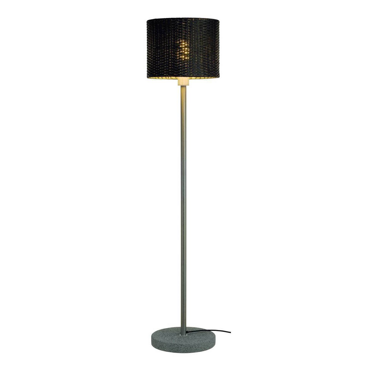 SLV Lighting 231395U Adegan Manila Sl Outdoor Floor Lamp, Stainless Steel/Anthracite