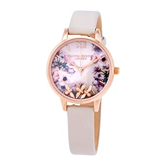 fe116acc808d Image Unavailable. Image not available for. Color  Olivia Burton Busy Bees  Watch ...