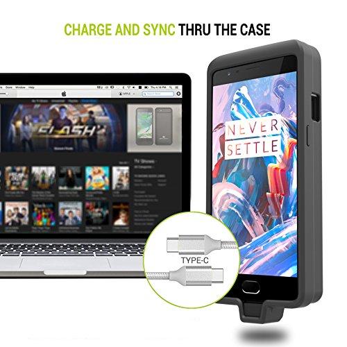 big sale 62413 26628 OnePlus 3/3T Battery Case, ZeroLemon OnePlus 3/3T 7500mAh Extended ...