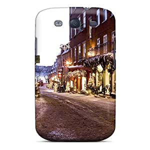 New Style Case Cover Decorated Street Compatible With Galaxy S3 Protection Case