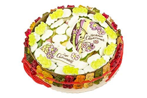 Geburtstags Torte Fruchtgummi Torte Gummibären Marschmallow