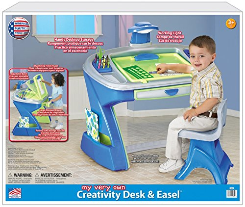 025217126503 - American Plastic Toy Creativity Desk and Easel carousel main 1