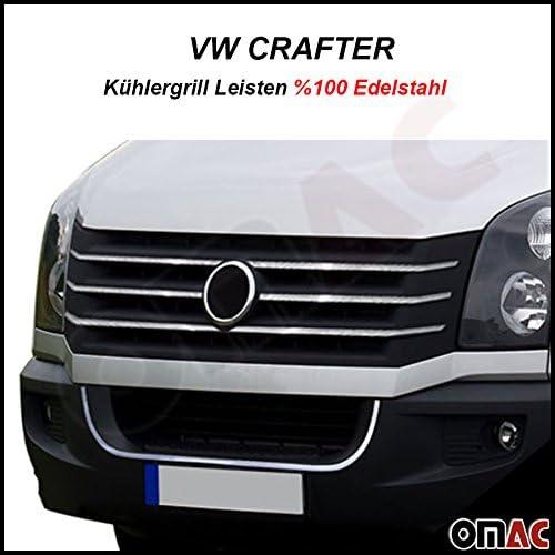 Kühlergrill Grill Leisten 7 Tlg Abs Chrom Für Crafter 2012 2019 Auto