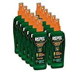 Repel 94101-1 6-Ounce Sportsmen Max Insect Repellent 40-Percent DEET Pump Spray, Case Pack of 12