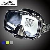 Qiyun Snorkeling Mirror Adult Snorkeling Equipment Snorkeling Mirror Mask Silica Gel Diving Goggles