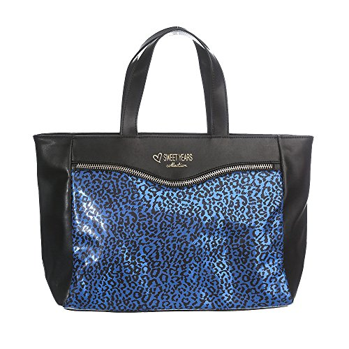 Sweet Years Borsa Donna - Mod. 2490 ATTRACTION Blu