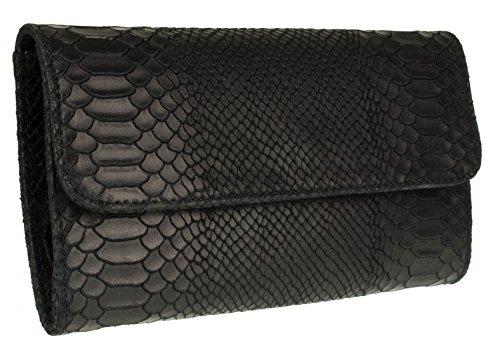 Handbags Mujer Girly negro de mano Cartera dWcTwWRqf8