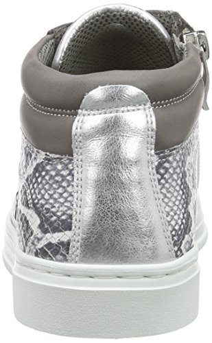 Ara Courtyard, Sneaker Alte Donna Grigio (Grau (Weiss,grey/Silber 09))