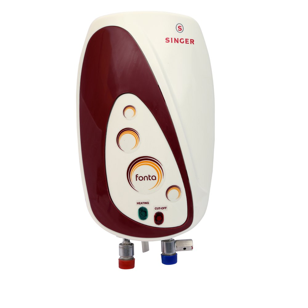 Singer Fonta Instant Water Heater with 1 Ltr Capacity