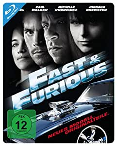 Fast & Furious - Neues Modell. Originalteile. - Steelbook [Alemania] [Blu-ray]