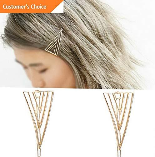 Hebel Hot Sale Women Vintage Hollow Triangle Hair Clip Hairpin Barrette Headwear | Model HRPN - 4812 | ()