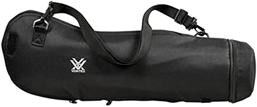 Vortex Optics Viper HD 80 mm Black Padded View-Through Spotting Scope Case Angled Straight 77-82 mm'scope