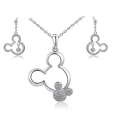 Parure bijoux Disney argent 925/1000