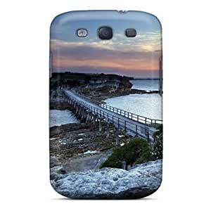 Fashionable ElnHVFc7164KQWLX Galaxy S3 Case Cover For Wooden Bridge To A Peninsula Protective Case