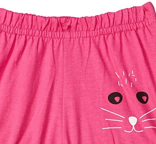 Easybuy Baby-Girl's Printed Regular Cotton Shorts