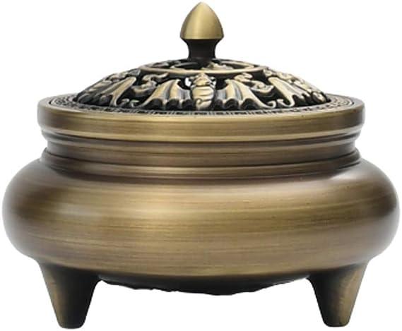 芳香器・アロマバーナー 純銅香炉家庭用室内クリーンエアトレイ香炉大サンダルウッド香炉アロマストーブ アロマバーナー芳香器