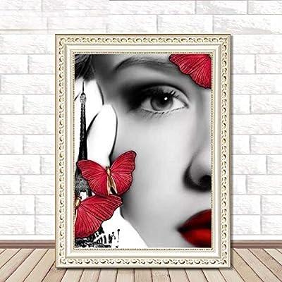DIY Diamond Painting Butterfly Fairy Crystal Cross Stitch 5D Office Home Decor