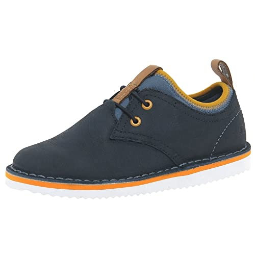ec8f264f550 Clarks Boy s Oscar Maze Jnr Navy Leather Sneakers-2.5kids UK India (18
