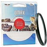 Omax 77mm multi coated ultra violet (uv) filter for nikon af-s nikkor 24-120 mm f/4g ed vr lens