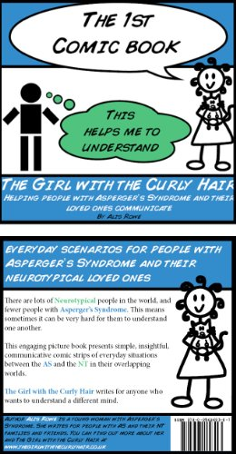 The Girl with the Curly Hair presents The 1st Comic Book (The Girl with the Curly Hair presents The Comic Books)