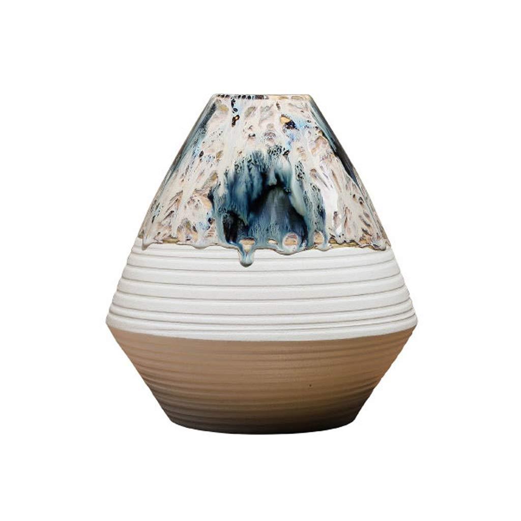 MAHONGQING アート花瓶、ドライフラワー装飾ホームダイニングテーブルリビングルームフラワーアレンジメントテレビキャビネット装飾 B07SYJZK7K