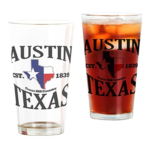 CafePress Austin, Texas - Texas Hill Country Towns Drinking Pint Glass, 16 oz. Drinking -
