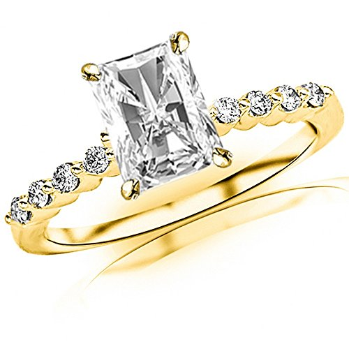 0.65 Ct Radiant Diamond - 8