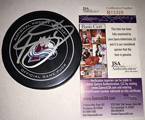 - Joe Sakic Signed / Autographed Colorado Avalanche Game Model Hockey Puck - JSA Certified