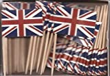 united kingdom decorations - United Kingdom UK Toothpick Flag Cupcake Toppers *Set of 20*