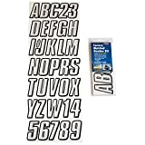 Hardline Products (SIBLK800) 800 Series Factory Matched Registration Decal Kit