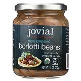 100% Organic Beans; Borlotti, Pack of 6