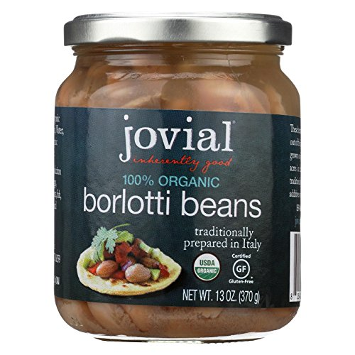 - Jovial Foods Borlotti Beans 100% organic, 13 oz.