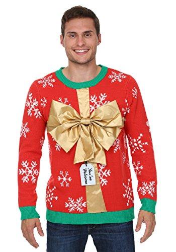 [Fun Costumes mens Christmas Present Sweater 2X] (Christmas Present Costumes)