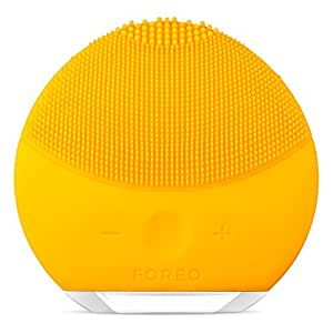 FOREO Luna Mini 2 Facial Cleansing Brush, Sunflower Yellow, 204g