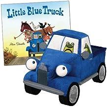 "The Little Blue Truck Board Book & 8.5"" Plush Truck Set"