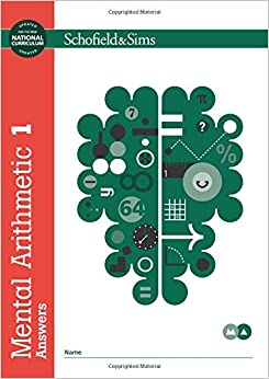 Mental Arithmetic Answer Book 1 (Book 2 of 7): Key Stage 2, Years 3 - 6