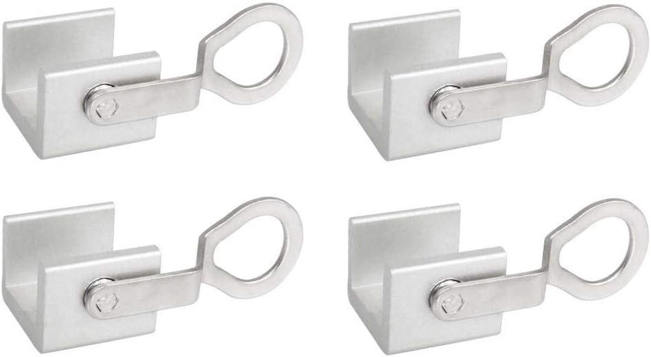 Rziioo 4pcs Correderas de Ventana corrediza Aleación de Aluminio ...